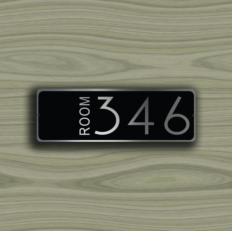 Custom Hotel Door Number  sc 1 st  Decamoda & CUSTOM HOTEL ROOM Door Number Sign