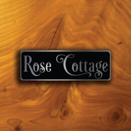 CUSTOM HOUSE NAMEPLATE Sign