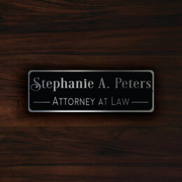 Custom DOOR NAME PLAQUE Sign
