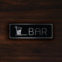 HOTEL BAR SIGN