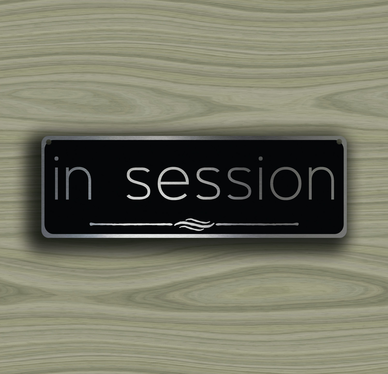 In Session Door Sign Yolarnetonic