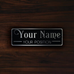PERSONALIZED  DOOR  PLAQUE Sign