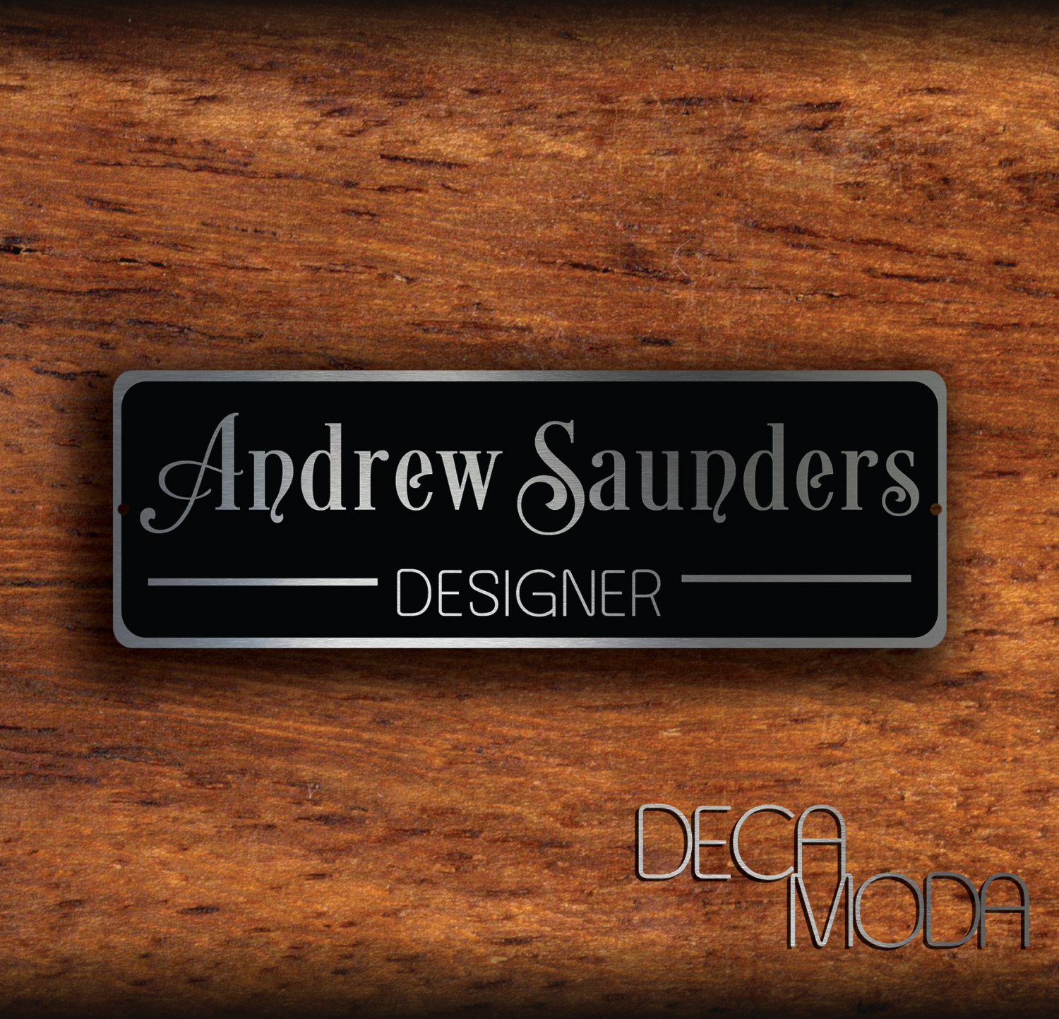 Personalized door sign for Door 3 facebook