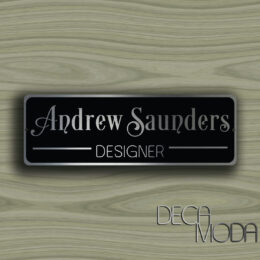 PERSONALIZED DOOR SIGN
