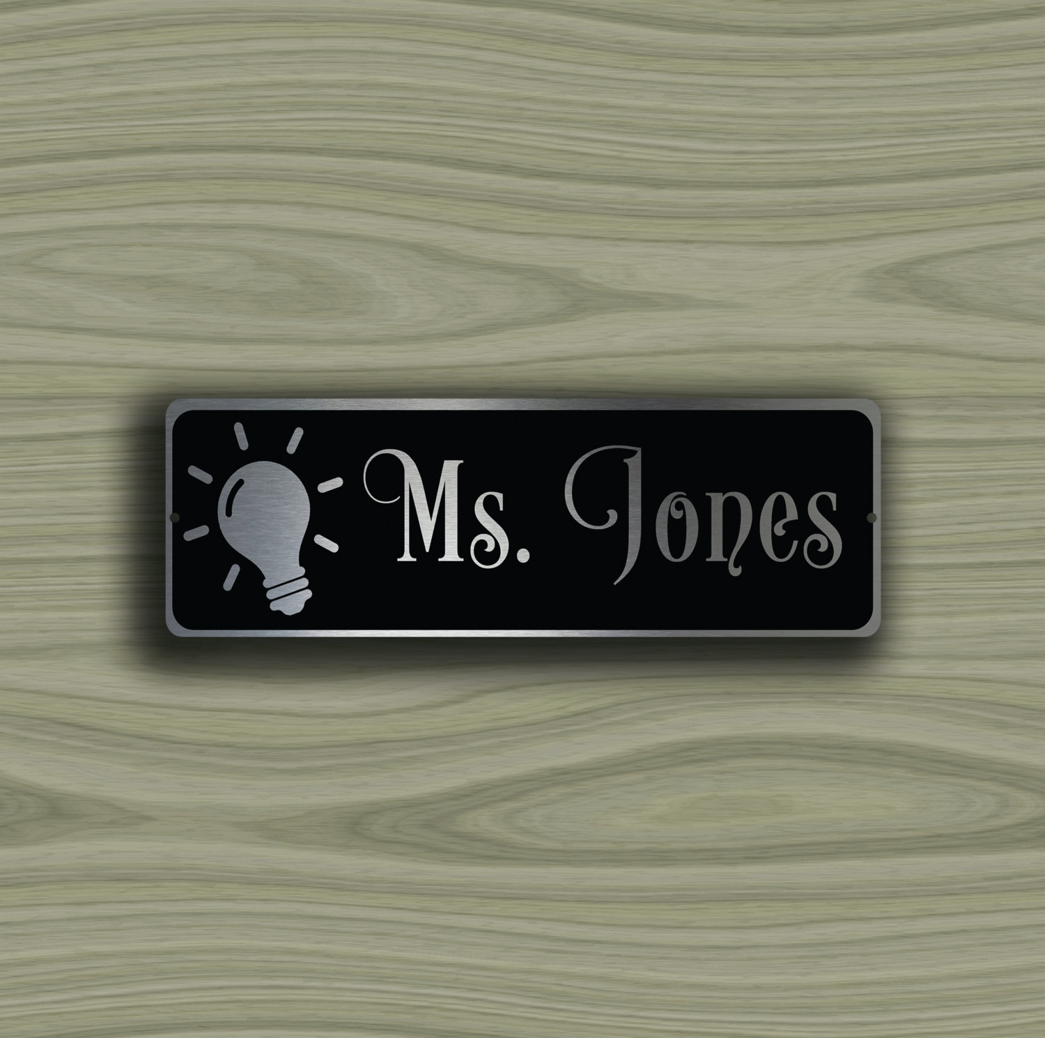 Door nameplate re usable plastic door name plates for Door name plates