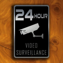 VIDEO SURVEILLANCE SIGN
