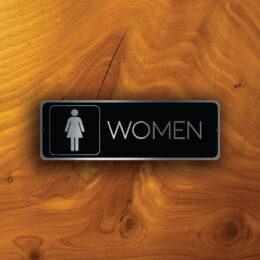 WOMENS RESTROOM DOOR Sign