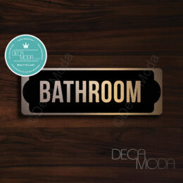 Bathroom-Door-Sign-Copper-Finish