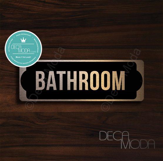 Bathroom-Door-Sign-Copper-Finish